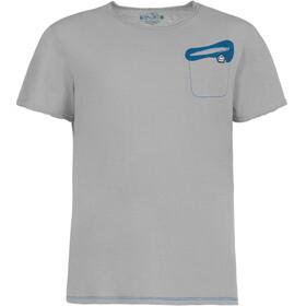 E9 Oblo 19 Bluzka z krótkim rękawem Mężczyźni szary